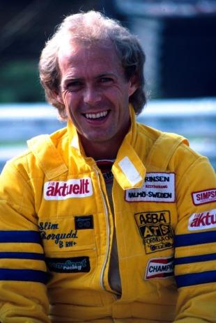 O sueco fez história ao ser o primeiro piloto a pontuar com pneus Avon
